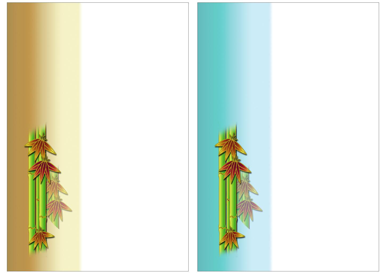 年賀状の背景イラストの無料ダウンロード|竹