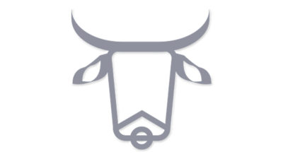 牛のマークで究極シンプル年賀状