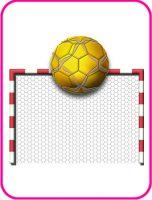 ハンドボールのデザイン