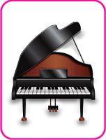 ピアノの年賀状