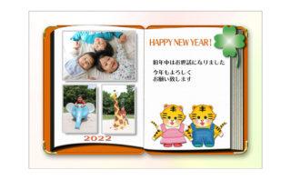 年賀状無料素材ダウンロード|photo-frame-113